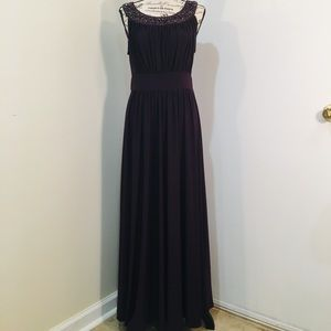 HAANI Purple Maxi Dress